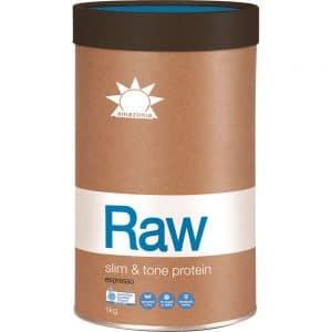 Amazonia Raw Protein Slim and Tone Espresso 500g