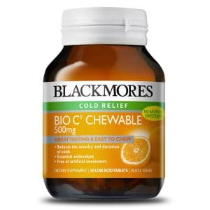Blackmores Bio C Chewable 500mg 200t