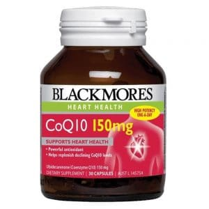 Blackmores CoQ10 75mg 90c