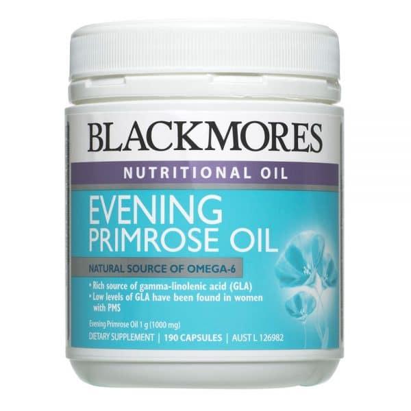Blackmores Evening Primrose Oil 1000mg 190c