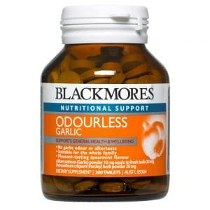 Blackmores Garlic (Odourless) 200t