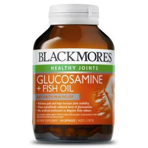 Blackmores Glucosamine plus Fish Oil 90c