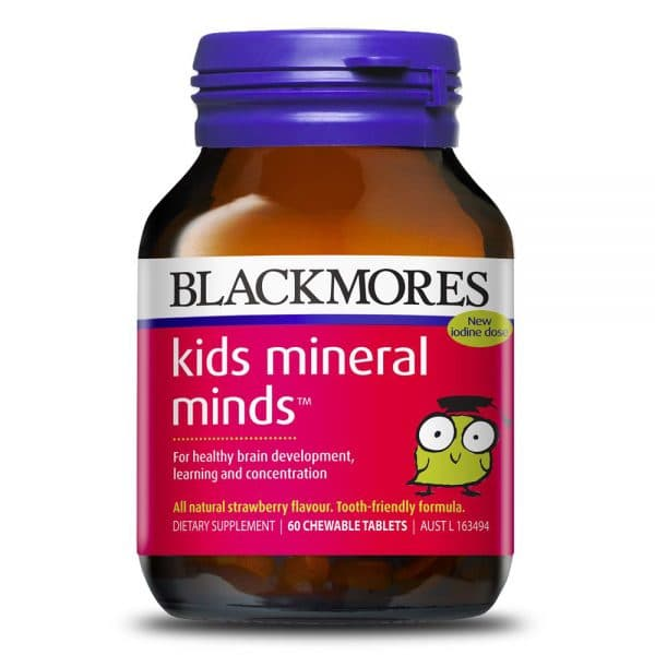 Blackmores Kids Mineral Minds 60t