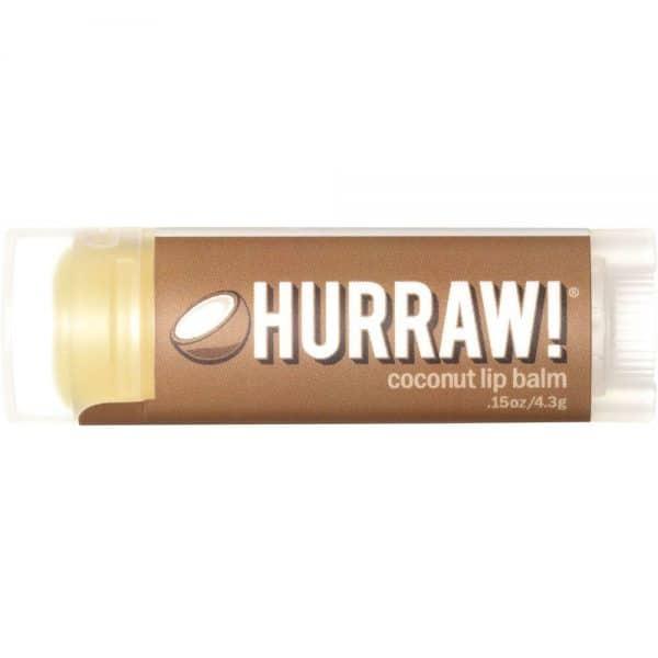 Hurraw! Lip Balm Coconut 4.3g