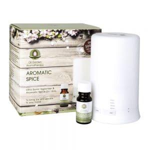 Oil Garden Aromatic Spice Ultra Sonic Vaporiser Pack